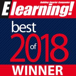 Elearning Magazine Winner 2018
